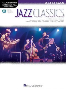 Jazz Classics Instrumental Play-Along for Alto Saxophone (Book with Audio online)