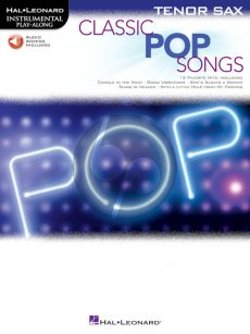 Classic Pop Songs for Tenor Saxophone (Book with Audio online)
