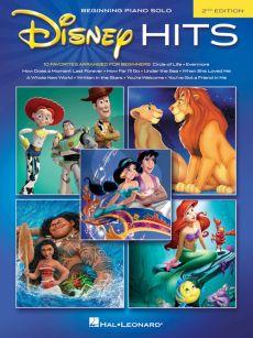 Disney Hits Beginning Piano Solo (Easy Piano) (2nd ed.)