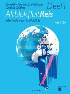 Hellbach-Coolen Altblokfluitreis Vol.1 (Methode voor Altblokfluit) (Boek met 3 CD's)