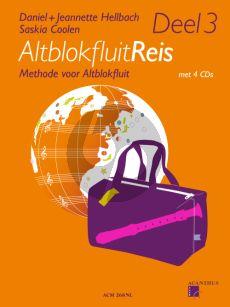 Hellbach-Coolen Altblokfluitreis Vol.3 (Methode voor Altblokfluit) (Boek met 4 CD's)