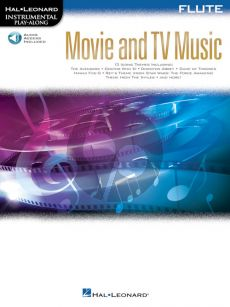 Movie and TV Music for Flute (Instrumental Play-Along) (Book with Audio online)
