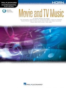 Movie and TV Music for Horn (Instrumental Play-Along) (Book with Audio online)