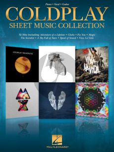 Coldplay Sheet Music Collection (Piano-Vocal-Guitar)