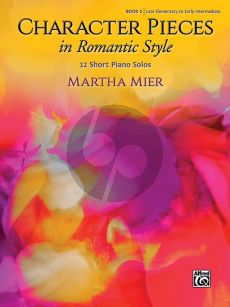 Mier Character Pieces in Romantic Style Book 1 Piano