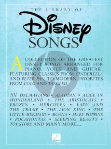 Library of Disney Songs (Piano-Vocal-Guitar)