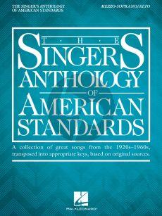 The Singer's Anthology of American Standards Mezzo-Soprano/Alto (Richard Walters)