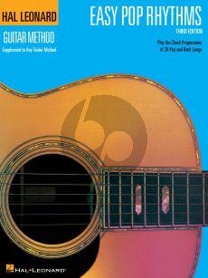 Easy Pop Rhythms for Guitar Book (Hal Leonard Guitar Method)