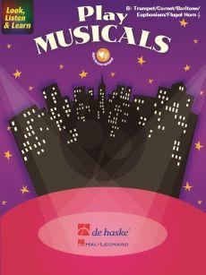 Look, Listen & Learn - Play Musicals Trumpet - Flugel Horn - Baritone - Euphonium TC (Book with Audio online) (Markus Schenk)