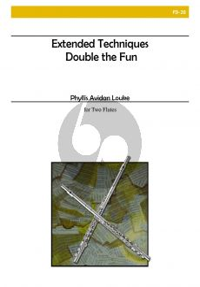 Louke Extended Techniques -- Double the Fun 2 Flutes