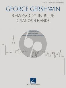 Gershwin Rhapsody in Blue 2 Pianos 4 hds (edited by Brenda Fox)