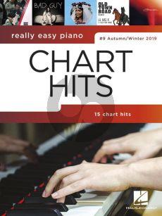 Really Easy Piano: Chart Hits 9 (Autumn-Winter 2019) (piano)