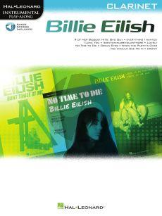 Billie Eilish Clarinet Instrumental Play-Along Pack (Book with Audio online)