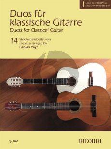Duos für klassische Gitarre 1 (arr. Fabian Payr)