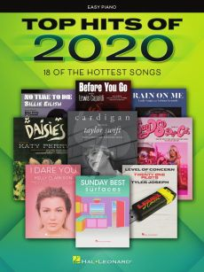 Top Hits of 2020 Easy Piano