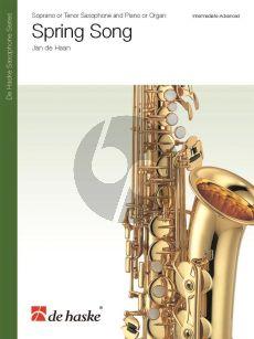 Haan Spring Song Tenor Saxophone and Piano or Organ
