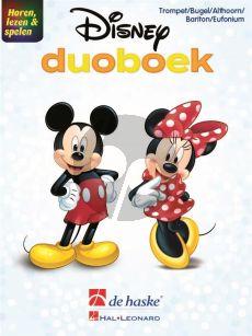 Horen, lezen & spelen - Disney-duoboek 2 Trompetten (Bugel - Althoorn - Bariton - Euphonium TC)