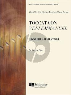 Hailstork Toccata on Veni Emmanuel Organ
