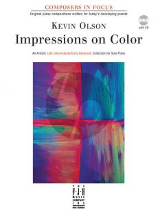 Olson Impressions on Color Piano Book with Cd