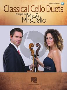 Classical Cello Duets (arr. by Mr. & Mrs. Cello) (Book with Audio online)