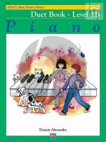 Alfred's Basic Piano Library Duet Book Level 1B