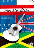 Wanders Pop & Rock Styles (Bk-Cd) (Easy Pieces) (Grade 1 - 2)