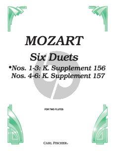Mozart 6 Duets Op.75 Vol.1 2 Flutes