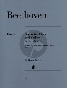 Beethoven Sonate A-dur Op.47 (Kreutzer Sonate Violine-Klavier
