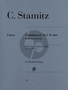 Stamitz Concerto No.1 D-major Viola-Piano