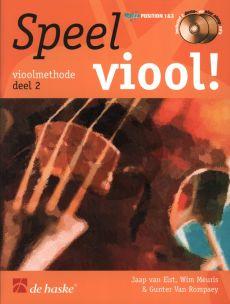Speel Viool Vol.2 (Viool Methode) (Bk- 2 Cd's)