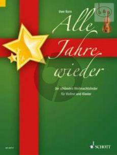 Alle Jahre Wieder (Die schonsten Weihnachtsl.) (Violin-Piano)