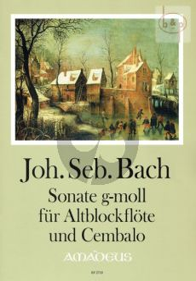 Sonate g-moll (nach BWV 527)