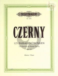 125 Fortschreitende Passage Ubungen Op.261