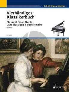 Vierhandiges Klassikerbuch (Leichte Originalwerke klassischer Meister) (edited by Willy Rehberg)