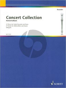 Concert Collection (27 Pieces) Treble Recorder and Piano (Johannes Weigart)