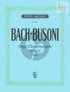 Bach Orgel-Choralvorspiele Vol.1 Piano solo