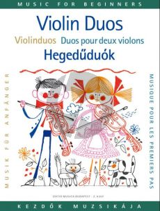 Violin Duets for Beginners (Lajos Vigh)