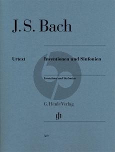 Bach Inventionen und Sinfonien BWV 772 - 801 Klavier (Ullrich Scheideler) (Henle-Urtext)