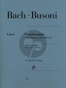 Bach Orgel-Choralvorspiele Piano solo (Busoni)