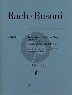 Bach Toccata d-minor BWV 565 for Piano Solo (transcr. by Ferruccio Busoni) (edited by Ullrich Scheideler)