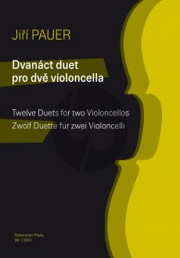 Pauer 12 Duos 2 Violoncellos