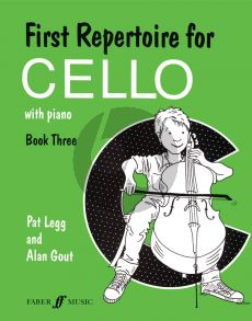 First Repertoire for Cello Vol. 3 Cello and Piano