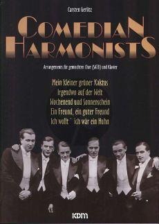 Comedian Harmonists SATB-Klavier (Carsten Gerlitz)
