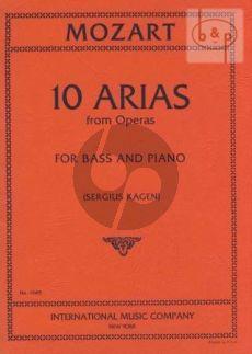10 Arias (Bass)