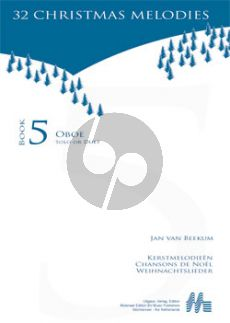 Beekum Kerstmelodien Hobo (32 Christmas Melodies) (with 2nd.part opt.)
