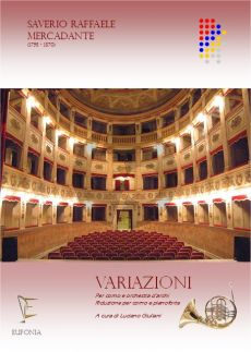 Mercadante Variazioni Horn and Orchestra (piano reduction) (edited by Luciano Giuliani)