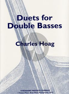 Hoag Duets for 2 Double Basses