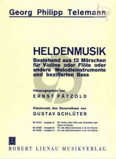 Heldenmusik in 12 Marschen TWV 50:31 - 42