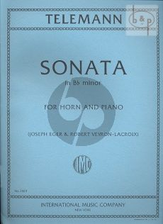 Sonata B-flat minor