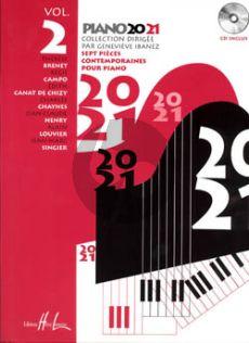 Piano 20-21 Vol.2 (Bk-Cd) (Ibanez) (Grade 4)